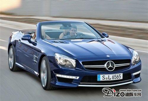 燃油经济性提升 奔驰新SL65 AMG官图发布