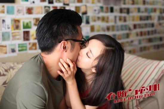 杨幂和陈坤在李少红导演的惊悚悬疑电影《门》中