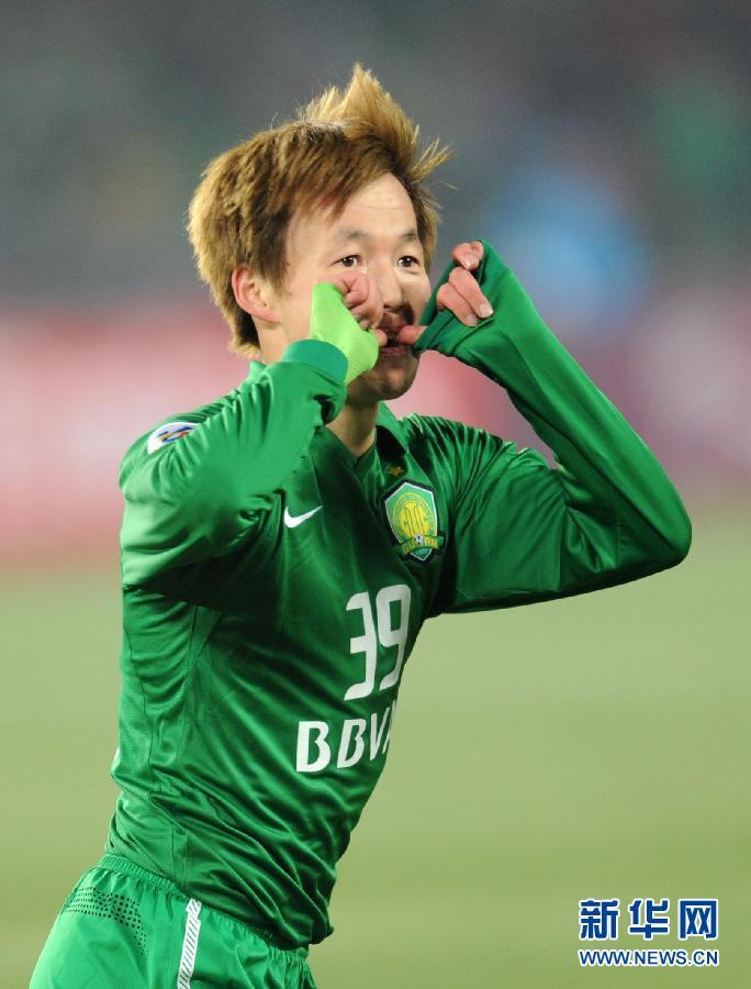 当日,在2012年亚冠联赛小组赛第二轮比赛中,中国北京国安队主场以1比1