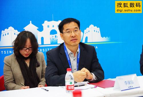 三星电子白色家电全球营销副总裁李康�f先生