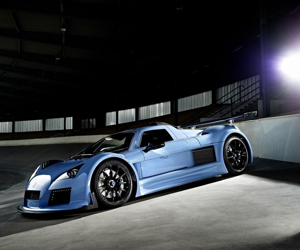 在线/走近超跑2012款太阳神阿波罗Gumpert Apollo S超级跑车美图赏!