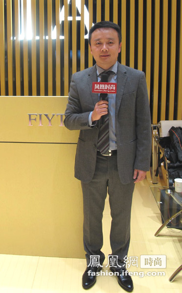 飞亚达销售有限公司总经理杜熙先生