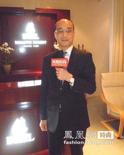 依波路亚太区行政总裁苏大先生