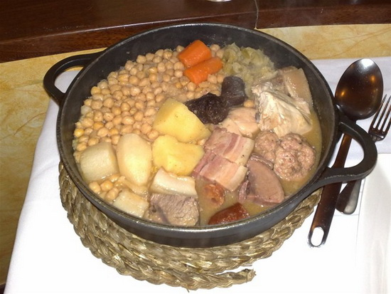 环球网旅游频道配图:马德里鹰嘴豆炖肉