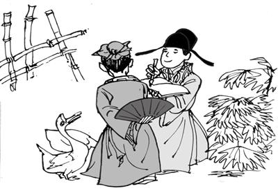 幼儿园拜访春天简笔画