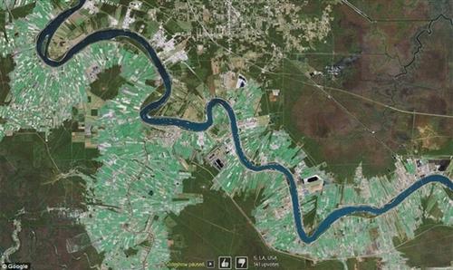 十大震撼谷歌地图卫星照赏析