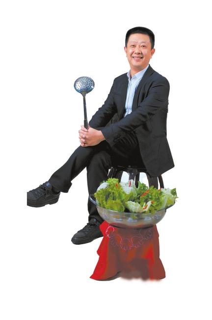 张勇/海底捞创始人、董事长张勇。