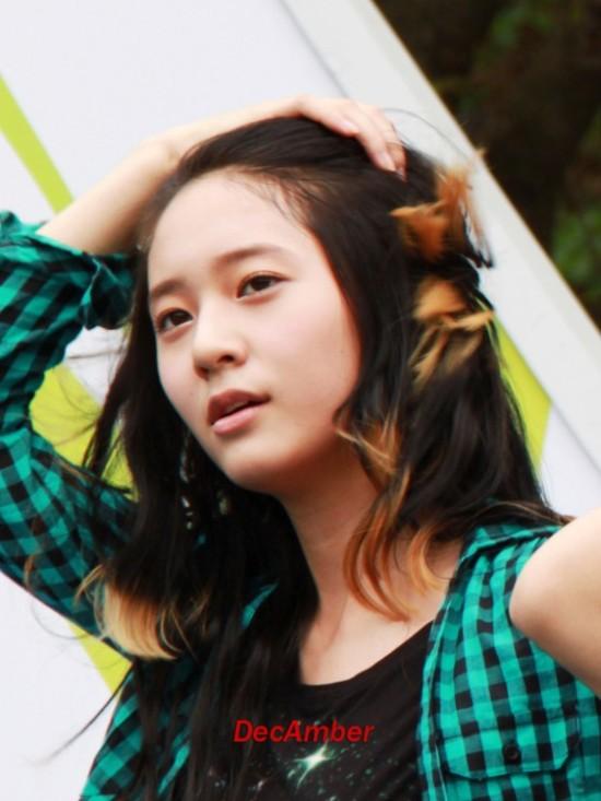 韩国演艺圈没有整容的十大自然美女组图