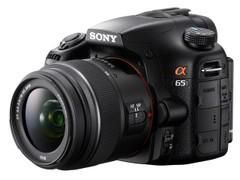 图为:索尼单电相机A65