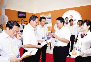 2010年第七届中国-东盟博览会期间,柳州市领导