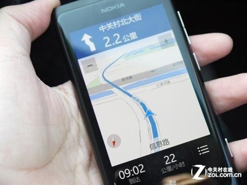 比谷歌更懂中国 诺基亚驾驶/地图服务测试