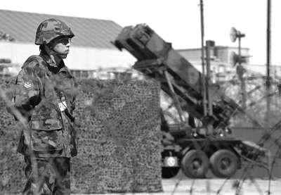 """部署在城市附近的日本""""爱国者""""导弹"""