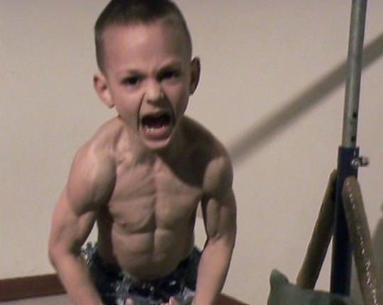 How To Get A Six Pack In A Week For Kids moreover Watch in addition Kid Bodybuilder Little Hercules Is furthermore Watch also Baby Bodybuilder. on giuliano stroe