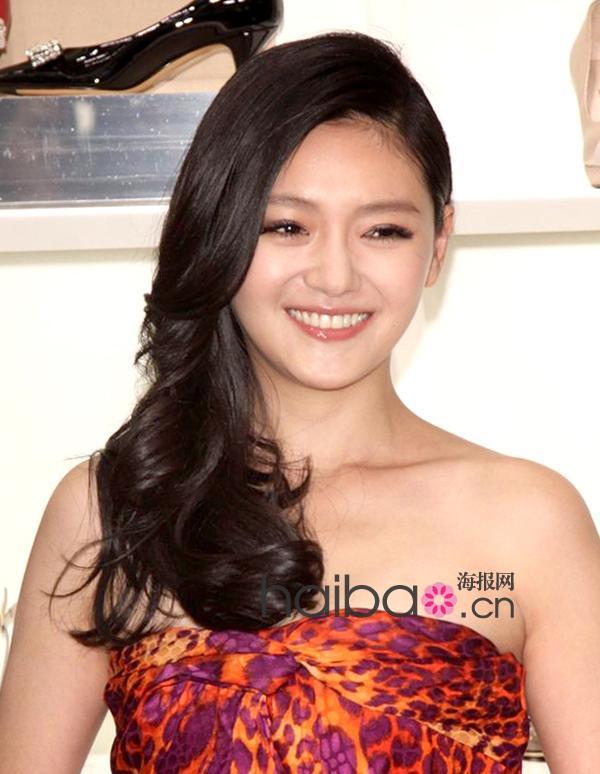 华语女明星3月长发发型示范(组图)
