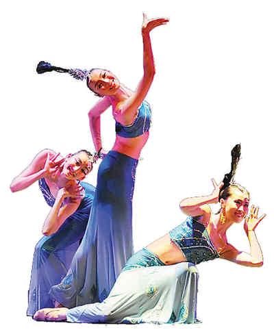 傣族民间舞《孔雀舞》.