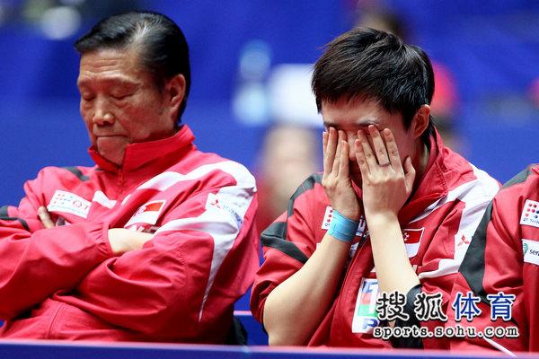 冯天薇不忍看比赛