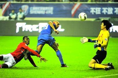 阿内尔卡在比赛中射门机会不多