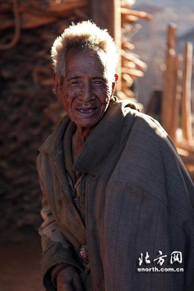 村中年龄最大的长者