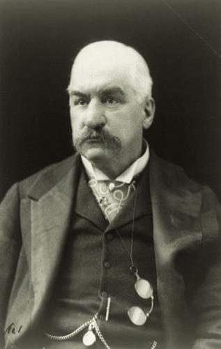 3,银行家约翰皮尔彭特摩根   简介:当时74岁的银行家被称为