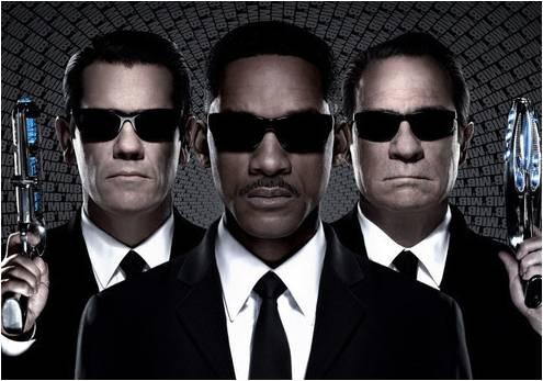 黑衣人3海报
