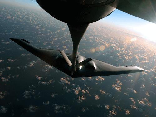 B―2隐形轰炸机资料图片