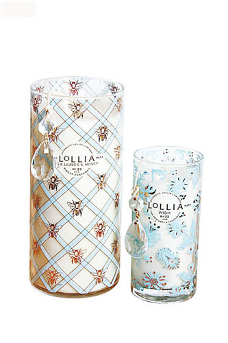 美国品牌LOLLIA蜡烛(中)$380、(大)$480