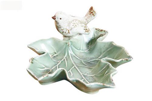 叶形陶瓷小碟$80