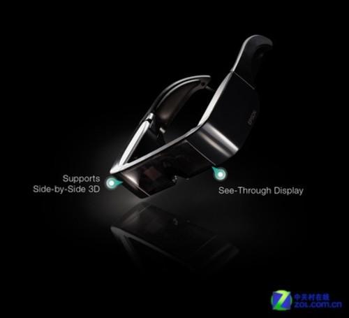 爱普生推出全球首款Android眼镜显示器