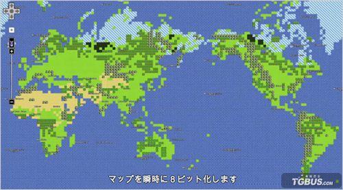 愚人节谷歌推八位版谷歌地图致敬勇者斗恶龙
