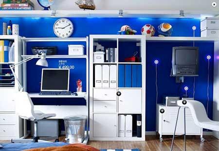 超美灵感设计 绝美宜家青少年卧室装修(组图)