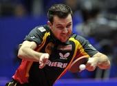 图文:世乒赛中国3-0德国6连冠 波尔拼尽全力