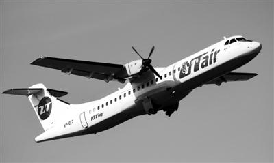 ATR―72型飞机是法国与意大利合资飞机制造商ATR公司制造的双螺旋桨民航飞机,巡航时速约500公里,最大航程1650公里,1989年投入商业运营。资料图片