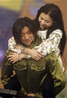 """张柏芝/黎明曾经在韩国很红,而有着""""韩国第一美女""""之称的金喜善,是..."""