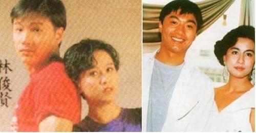 刘嘉玲 范冰冰/林俊贤1982年加入TVB艺员训练班,与周星驰、梁朝伟都是同班...