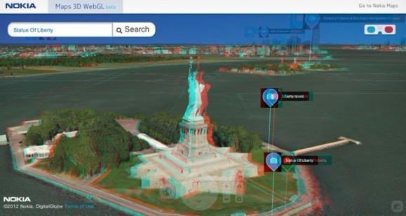诺基亚地图webGL测试版选项3D模式增添-搜狐建筑设计英文标题图片