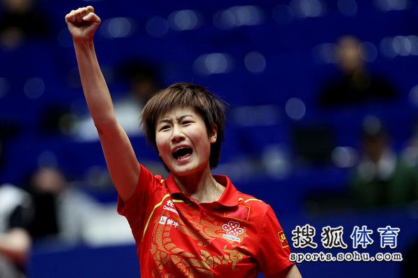 完美复仇:女团决赛 中国3-0新加坡