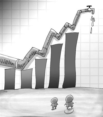 推行阶梯式水价(图)