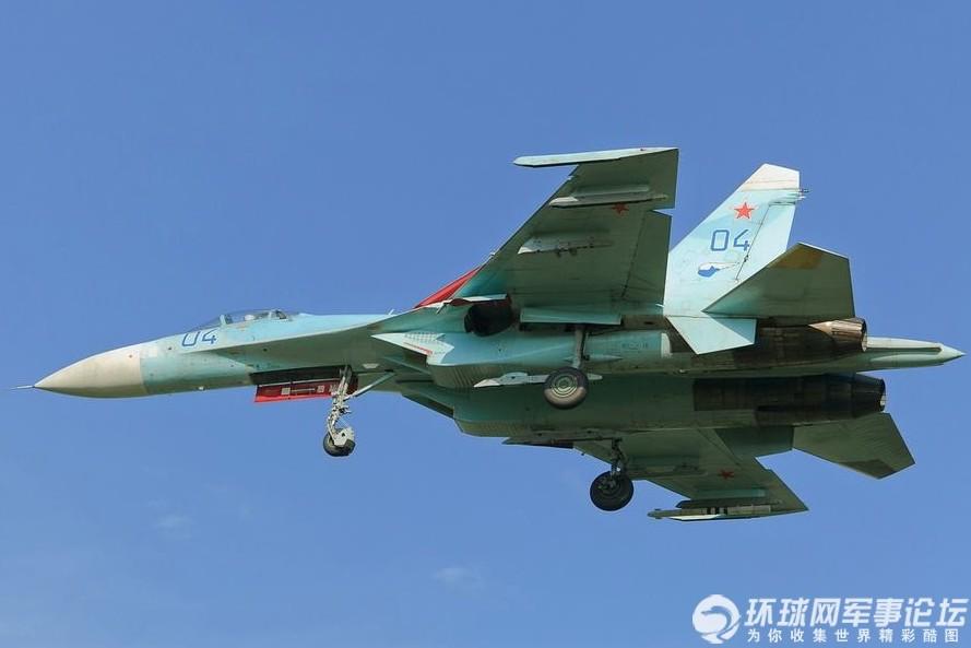 俄罗斯空军的苏27战斗机图片