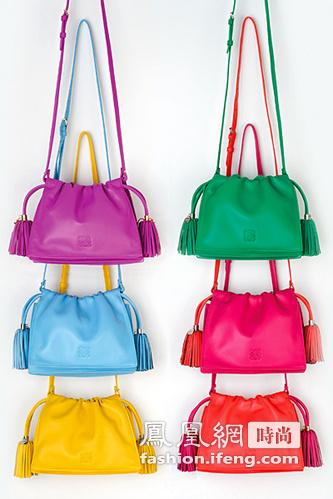 Loewe 2012早秋系列手袋 缤纷蜜糖色点亮早秋