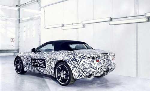 【捷豹量产版F-Type】-捷豹量产版F Type年内发布 明年正式上市高清图片