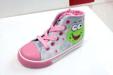 范儿 童天/童天手绘帆布鞋