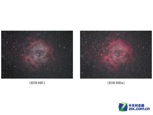 我们可以看到60Da可以捕捉更多的宇宙光线