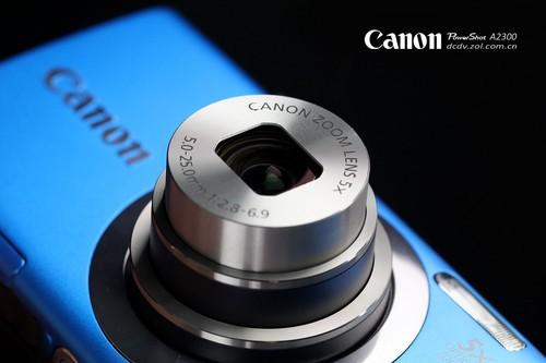1600万像素入门卡片 佳能A2300评测首发