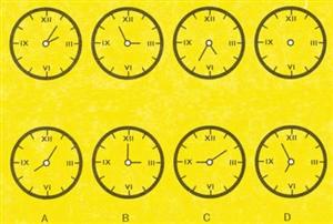 钟表显示的时间(图)
