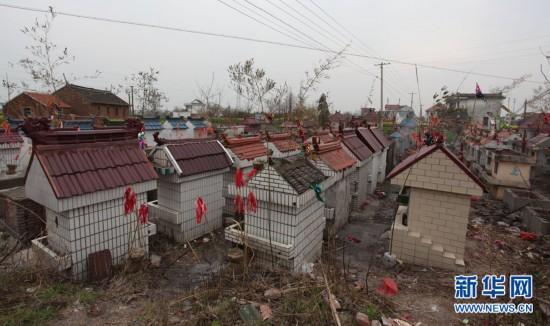 2012年4月4日,江苏省南通市如东县,相当数量的逝者