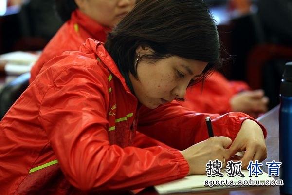 篮球:射击射箭队奥运动员大杜丽记录做认真东莞图文王图片