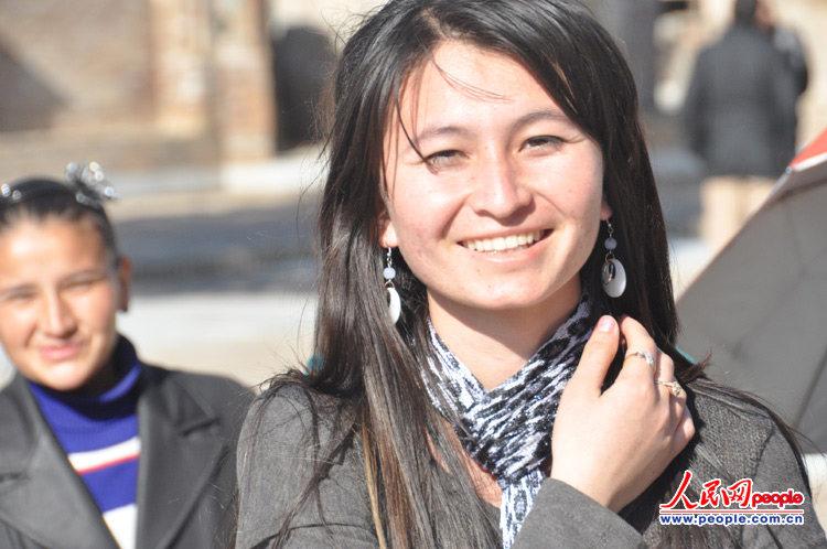 组图:带你看乌兹别克斯坦美女