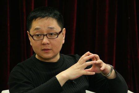 张绍刚/前天,天津卫视在京录制《非你莫属》开播一百期特别节目