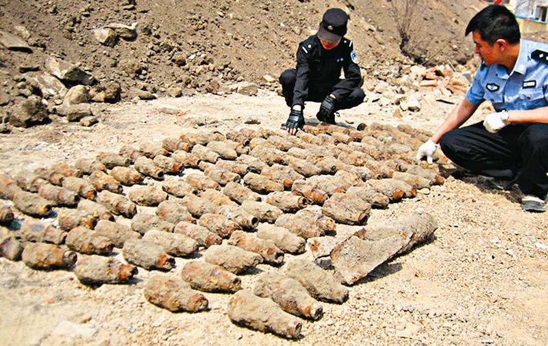 山西大同发现209枚战争年代遗留爆炸物; 大同又现209枚战争年代爆炸