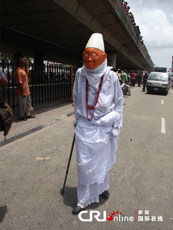 尼日利亚举办拉各斯国际嘉年华高清组图